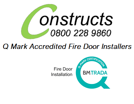 Q Mark Fire Door Installers Carpentry Contractors Somerset Taunton Exeter Bristol Weston super Mare Commercial Residential Property